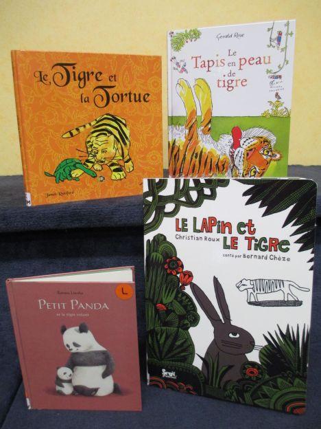 Des histoires de tigres bibliothèque Déols