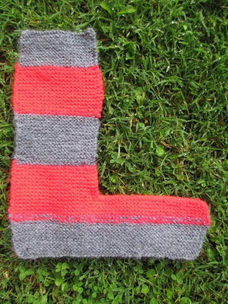 Lettre tricot L2