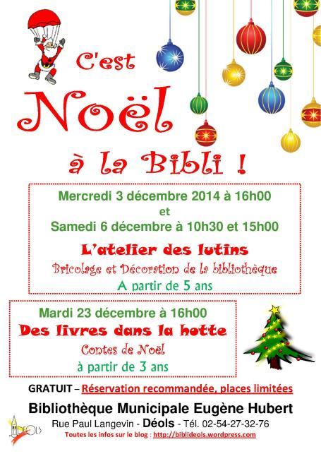 Affiche Noël 2014 (Déco Contes)